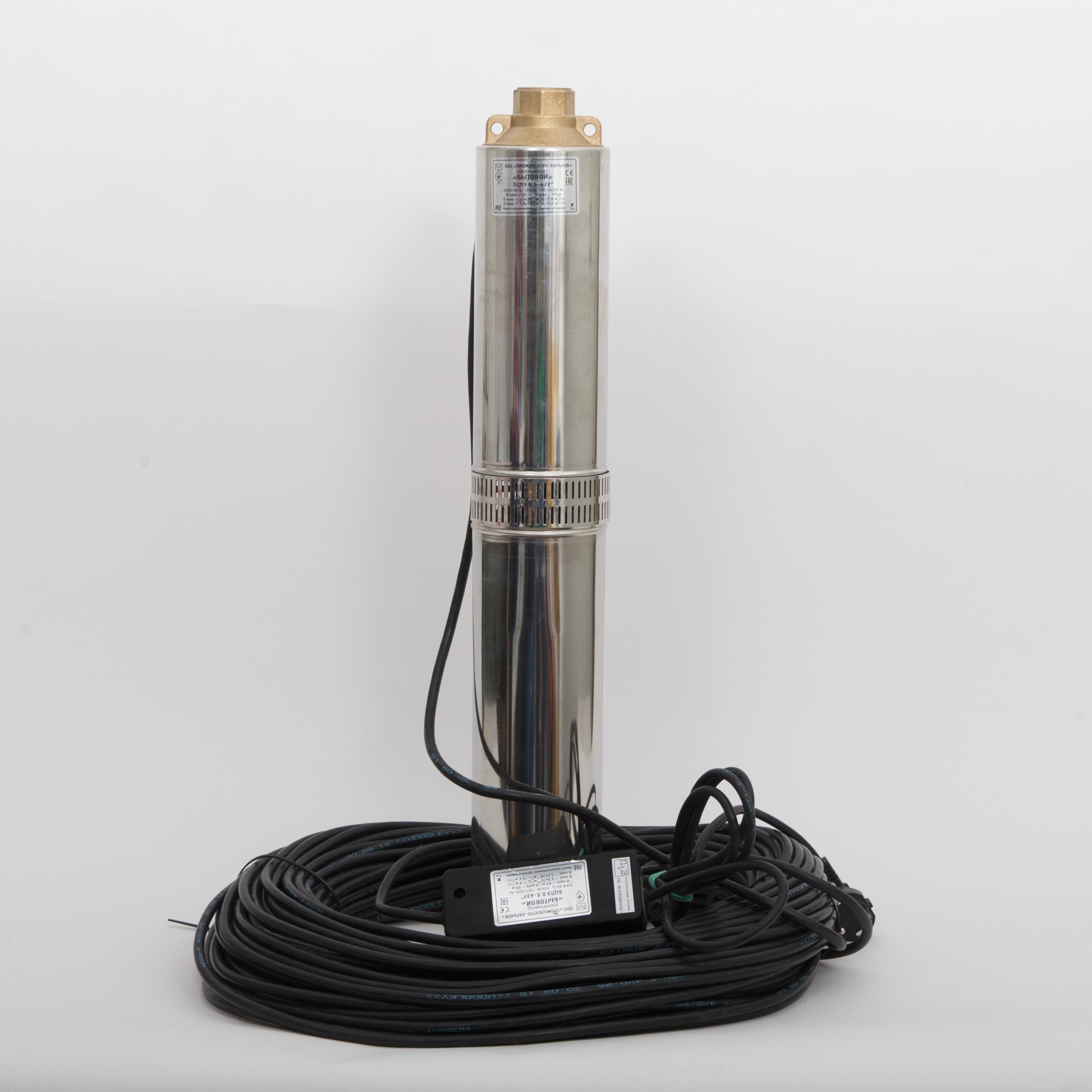 """Погружной насос предназначен для подачи чистой воды из скважин и колодцев имеющих средний или слабый """"насосы океан"""" интернет магазин."""